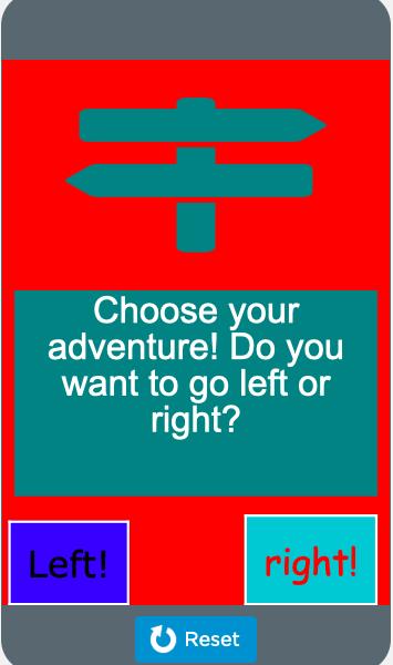 Aarav _Choose your adventure